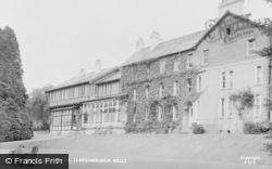 Llangammarch Wells, Lake Hotel c.1955