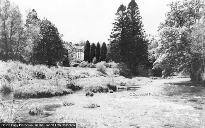 Photo of Llangammarch Wells, Lake Hotel c.1960