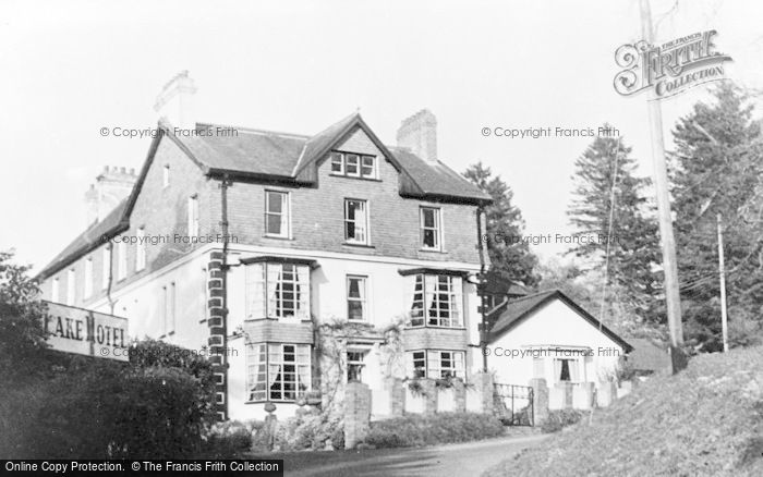 Photo of Llangammarch Wells, Lake Hotel c.1960