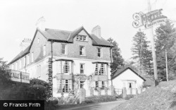 Llangammarch Wells, Lake Hotel c.1960