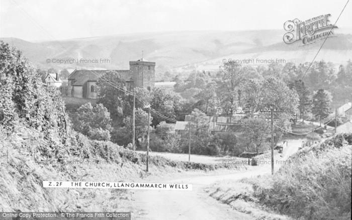 Photo of Llangammarch Wells, St Cadmarch's Church c.1960