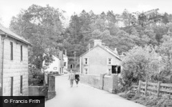 Llangammarch Wells, The Bridge c.1955