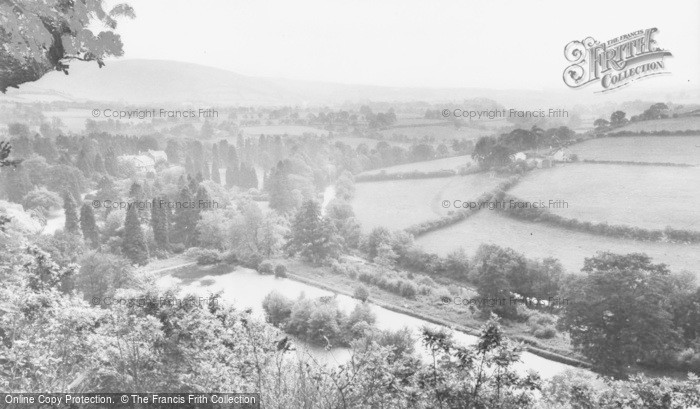Photo of Llangammarch Wells, The Lake And River c.1955