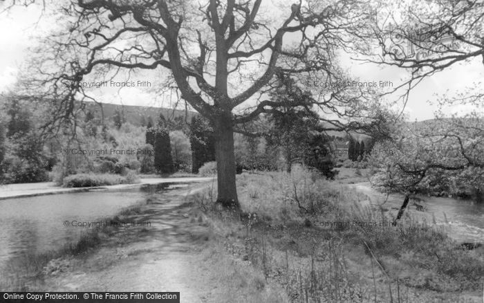 Photo of Llangammarch Wells, The Lake And River c.1960