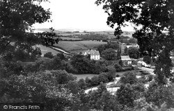 Llangammarch Wells, The Village c.1955
