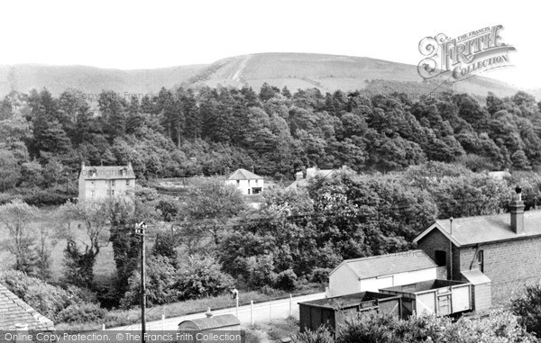 Photo of Llangammarch Wells, The Village c.1955