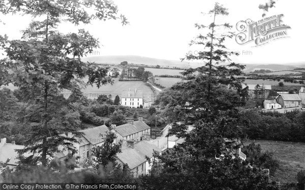 Photo of Llangammarch Wells, Village From South c.1955