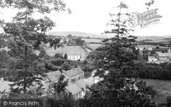Llangammarch Wells, Village From South c.1955
