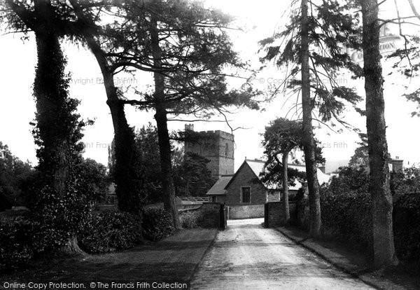 Llangattock, Church 1898