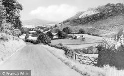 Llangedwyn, Golfa Bank c.1950