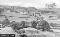 Llangedwyn, Site Of Glyndwr's Birth Place c.1955
