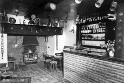 Llangedwyn, The Bar, The Green Inn c.1950