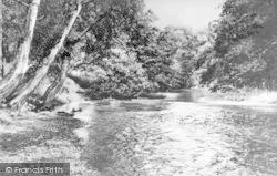 Llangedwyn, The River Tanat c.1950