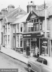 Llangefni, A Shop In Stryd Fawr c.1960