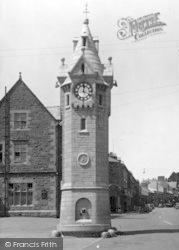 Llangefni, Clock Tower c.1950