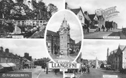 Llangefni, Composite c.1950