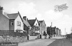 Llangefni, Glam Hwfd Road c.1939