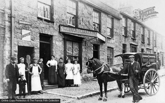 Photo of Llangefni, Gwalia Temperance Bakery, Bridge Street c.1910