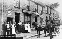 Llangefni, Gwalia Temperance Bakery, Bridge Street c.1910