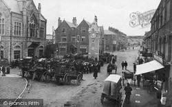 Llangefni, Market Square c.1900