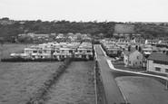 Llangefni, New Housing Estate c1955