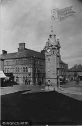 Llangefni, The Clock c.1940