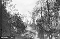 Llangefni, The Dingle c.1939