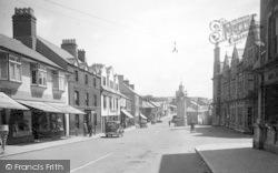 Llangefni, The High Street c.1940