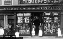 Llangefni, The Star Supply Stores c.1910