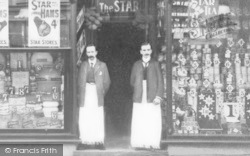 The Star Supply Stores Staff c.1910, Llangefni