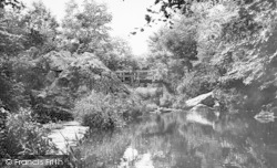 Llangefni, Y Dingle c.1955