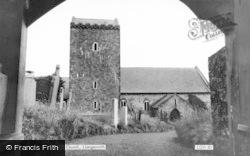 Llangennith, St Cenydd's Church c.1960