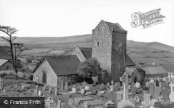 St Cenydd's Church c.1960, Llangennith