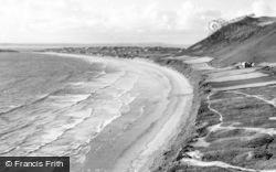 Llangennith, The Bay c.1955