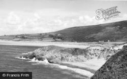 Llangennith, The Two Bays c.1955