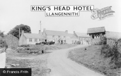 Llangennith, The Village And King's Head Hotel c.1960