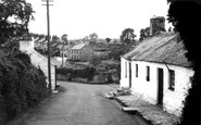 Llangoed, the Village c1950