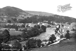 Llangollen, And Castle Dinas Bran 1908