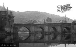 Llangollen, Bridge 1901