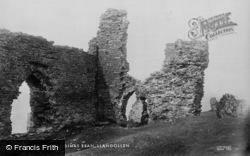 Castell Dinas Bran 1901, Llangollen
