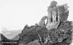 Castell Dinas Bran c.1880, Llangollen