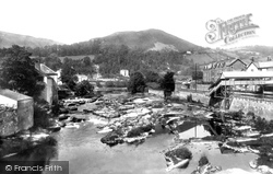 Llangollen, From The Bridge 1901