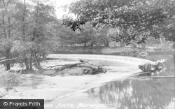Horseshoe Falls c.1935, Llangollen
