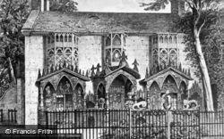Plas Newydd c.1875, Llangollen