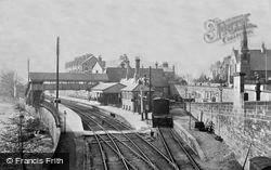 Railway Station c.1900, Llangollen