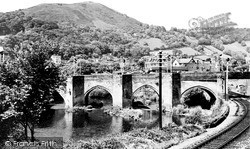 Llangollen, The Bridge c.1955