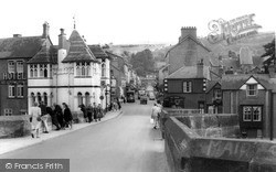 Llangollen, The Bridge c.1965