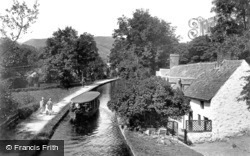 Llangollen, The Canal At Penddol c.1935