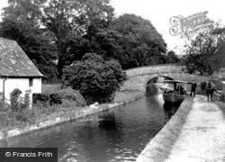The Canal c.1935, Llangollen