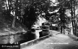 The Canal c.1955, Llangollen